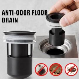 Floor Drain Shower Drain Hair Stopper Catcher Sink Strainer Drain Protectors Bathroom Toilet Tub Kitchen Home Anti-Odor Floor Drain