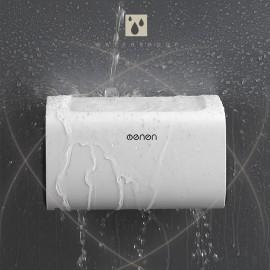 Mengni Paper Towel Dispenser Wall Mounted No-drilling Paper Towel Holder Dispenser Bathroom Toilet Tissue Dispenser Garbage Bags Dispenser Home Kitchen Paper Extraction Dispenser